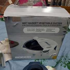 Wet basket vegetables cutter