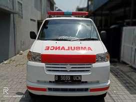 Suzuki apv ambulance medis 2015 putih standart RS istimewa antik mumer