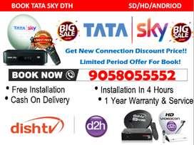 #Jingalala Offer On Tata Sky HD With 6 Month Tatasky, Airtel, Dishtv!!