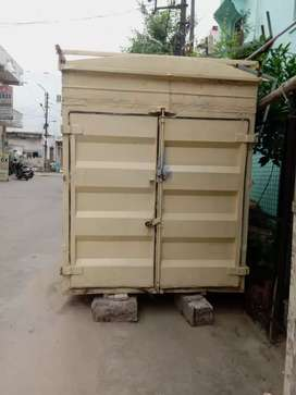 Iron container which is very heavy and strong