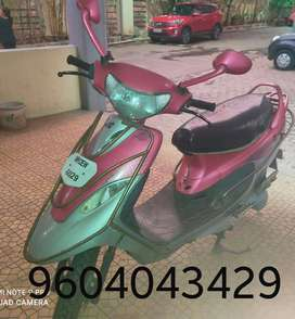 Scooty Pep Plus,  Pink color, Complete renovation one year ago