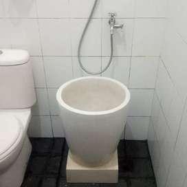 bak mandi unik dan simpel nuansa bali