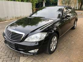 Mercedes Benz S350L 2007 Black On Beige, ATPM, KM 30 rb, Antik