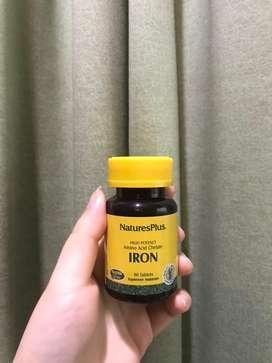 Suplemen makanan nature plus iron
