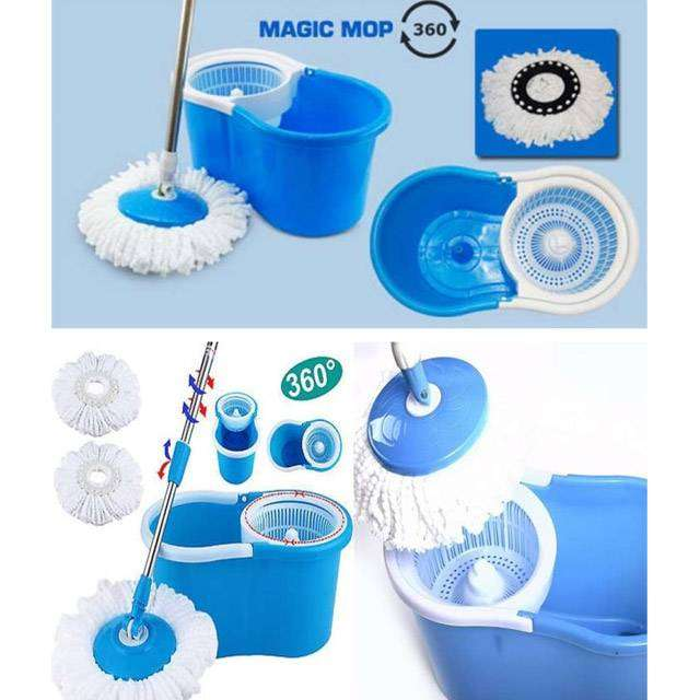 Easy Spin Magic Mop in Pakistan | 360 Home Cleaning System 0