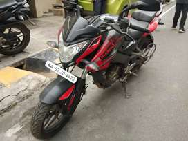 Pulsar 200 NS (RED and BLACK)
