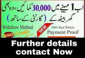 Online job available for fresh students
