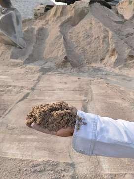 Jual Pasir Putih Bangka, hitam, beton, batu Split, batu kali