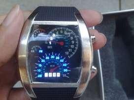 Jam sped led watch