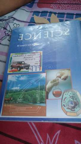 Science ncrt class 9 excellent condition book