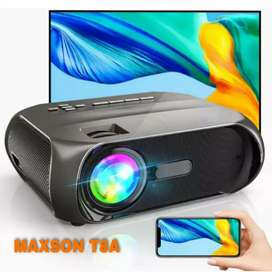 3800 LM T8A SMART WIFI PROJECTOR 200 INCH SCREEN 3D YOUTUBE MIRACAST