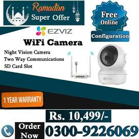 IP & WiFi CCTV Camera (Ezviz 1 Year Warranty)