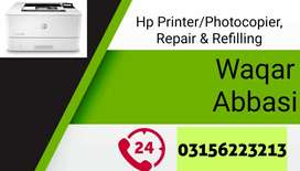 Toner Refill, Repair and sale of printers.