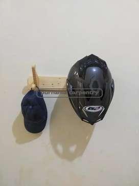 Gantungan Helm Double + Jaket