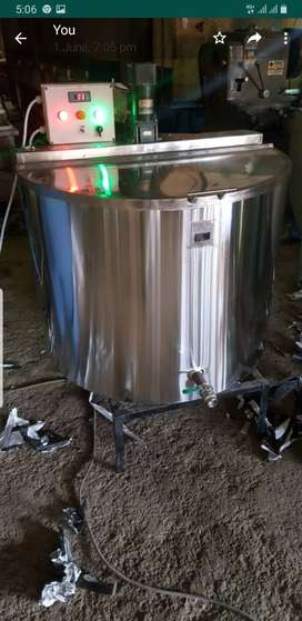 400 ltr milk chiller