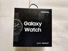 Samsung Galaxy  Smart watch 42 MM(Midnight Black) - like new - unboxed