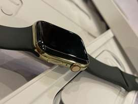 Apple watch series 6 44mm Gold Stainless Steel