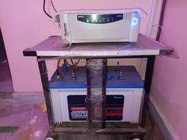 Inverter with Battery & stand