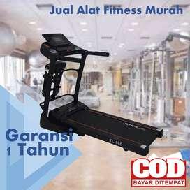Treadmill Elektrik Total Fitness 2 hp TL 680 PALING LAKU