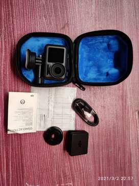 DJI Osmo action camera just 1 month old.. very rarely used