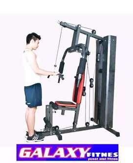 GUDANG ALAT FITNES' _TERBESAR  READY* black gym