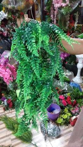 Meter Daun Rambat / Tanaman Hias Sulur Palsu Plastik Dekorasi Rumah