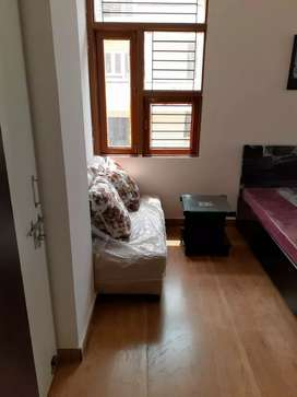 1bhk AFFORDABLE PRICE FULLFURNISHED FLAT CORNER DOUBLE BALCONY FLAT ..