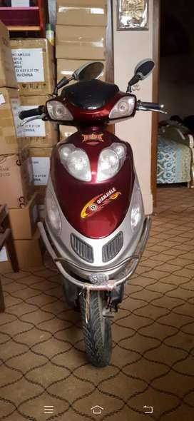 Chinese electric scooty