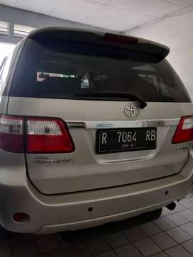 Toyota fortuner G a/t 2009
