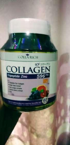 Colla rich vitamin kulit mencerahkan isi 60 kaps
