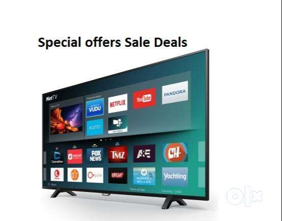 "Super Clarity 55"" 4k QLED HD tv with Smart features 1 year warranty 0"