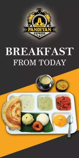 Need briyani master for my restaurant in saravananam patti