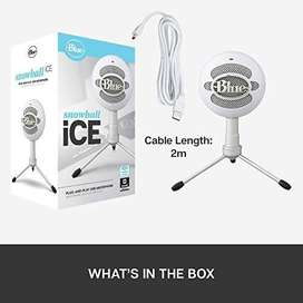 Blue Snowball iCE USB Mic Recording Electronics & Computer Services