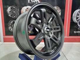 Velg Mobil HSR DAIMON Ring 16 Lebar 7 Baut 5 For Sienta Wish Ertiga