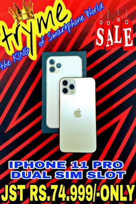 TRYME IPHONE 11 PRO Dual sim Slott Full Kit Box