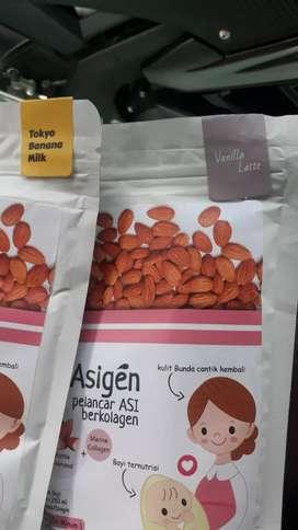 Susu Pelancar ASI Kacang Almond