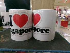mug cetak digital bergambar full color (minim 3 pcs)