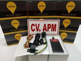 Paket murah GPS TRACKER gt06n pelacak aman motor/mobil, plus server