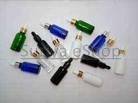 5ml, 15ml & 30ml Glass Dropper Bottles for Serum or Essential Oils