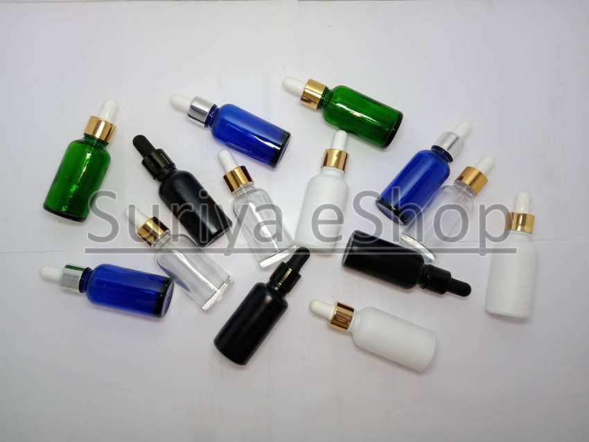 5ml, 15ml & 30ml Glass Dropper Bottles for Serum or Essential Oils 0