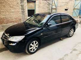 My honda civic 2005 black coloer fore sale