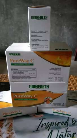 PureWay C (vit C yg aman bagi lambung, untuk menjaga IMUNITAS TUBUH)