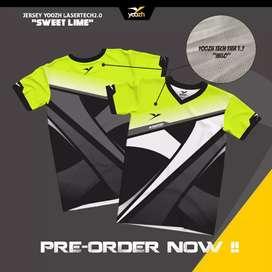 Jersey badminton volly futsal ORIGINAL Yoozh