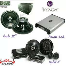 Paket Venom Virus [ DF Car Audio]