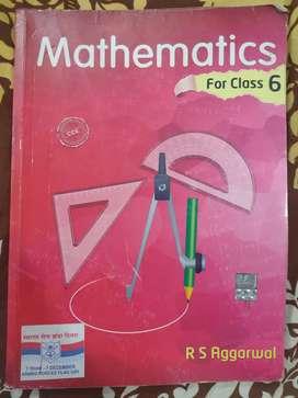 RS Aggarwal class 6 Mathematics