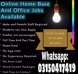 Our company need staff for online work