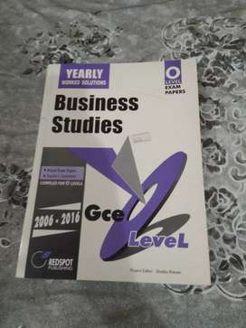 Past papers of business studies o levels