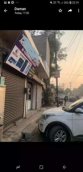 Commercial shop on tanda road near devi talab mandir for sale