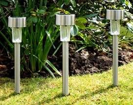 PROMO - Lampu Taman Matahari LED Garden Lamp Taman LV Tenaga Surya Sol