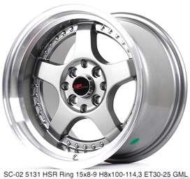 SC-02 5131 HSR R15X8/9 H8X100-114,3 ET30/25 GML
